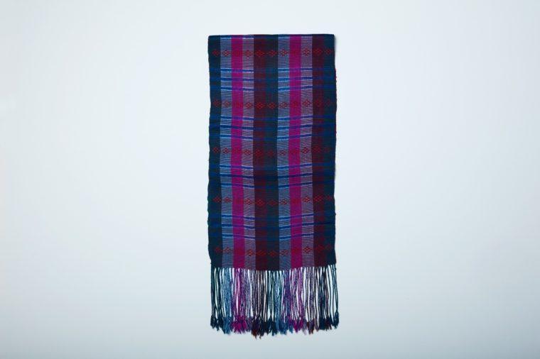 anna in bhutan scarf