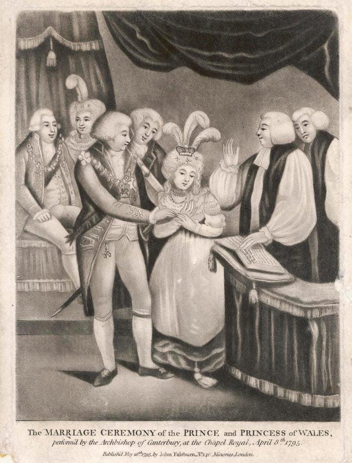 King George IV and Caroline of Brunswick