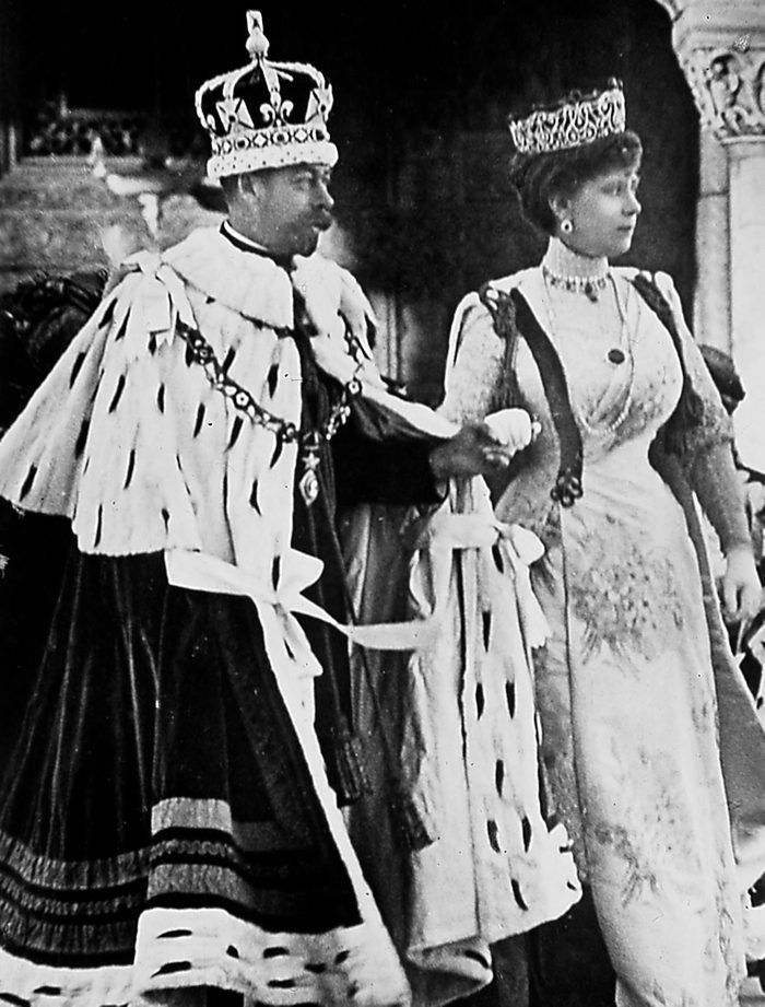 King George V and Queen Mary