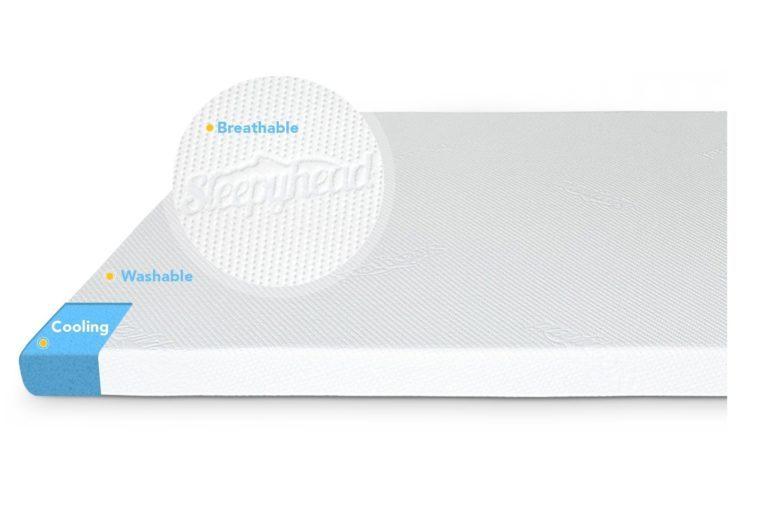 sleepyhead gel mattress topper