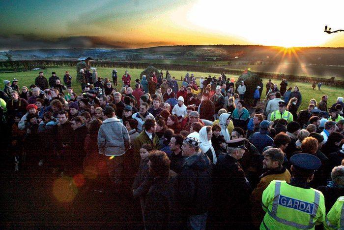 Newgrange gathering Ireland