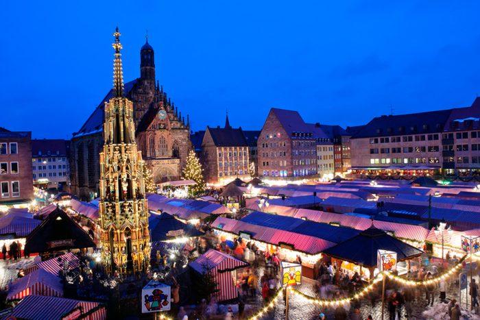 Nuremberg Germany Christmas