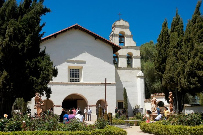 Old Mission San Juan Bautista church