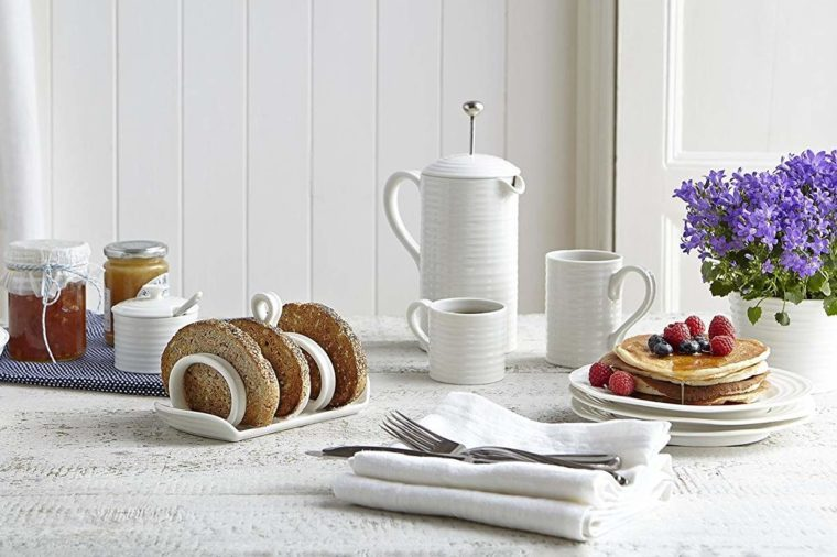Portmeirion Sophie Conran White Toast or Letter Rack