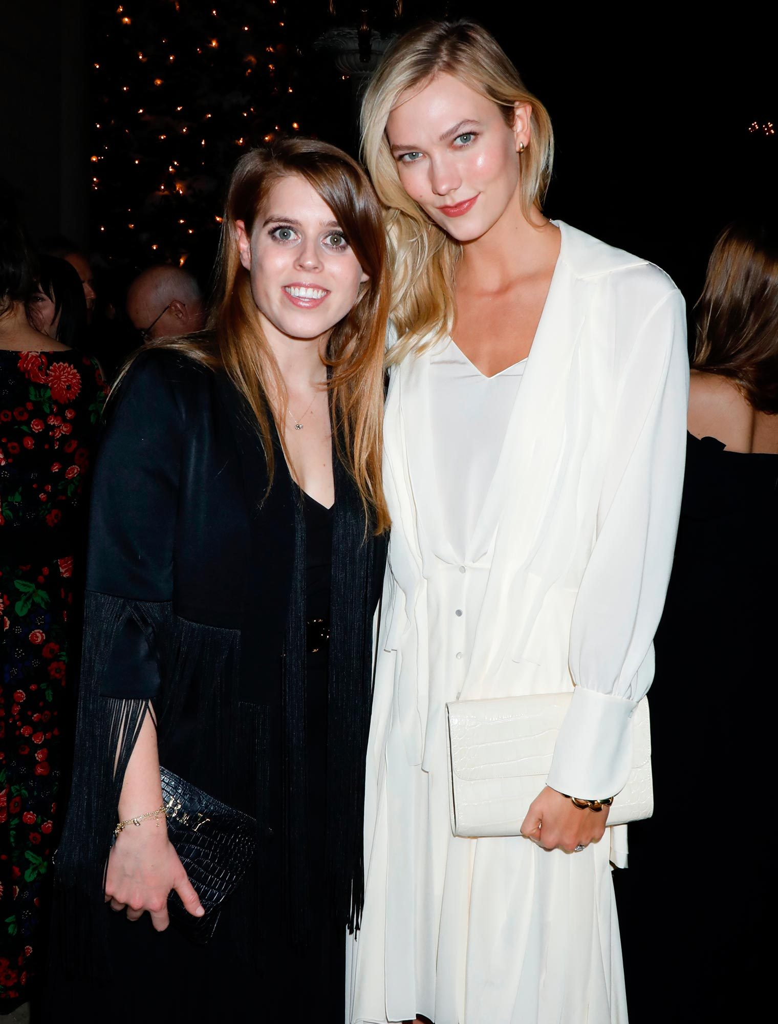 Princess Beatrice and Karlie Kloss