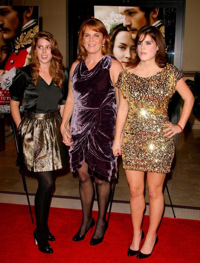Princess Beatrice 'The Young Victoria' Film premiere