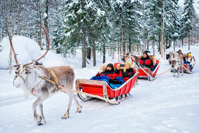Rovamiemi Finland Christmas