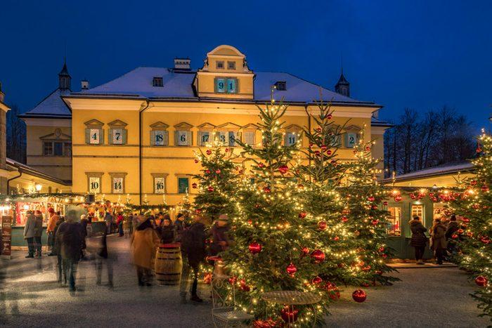 Salzburg Austria Christmas
