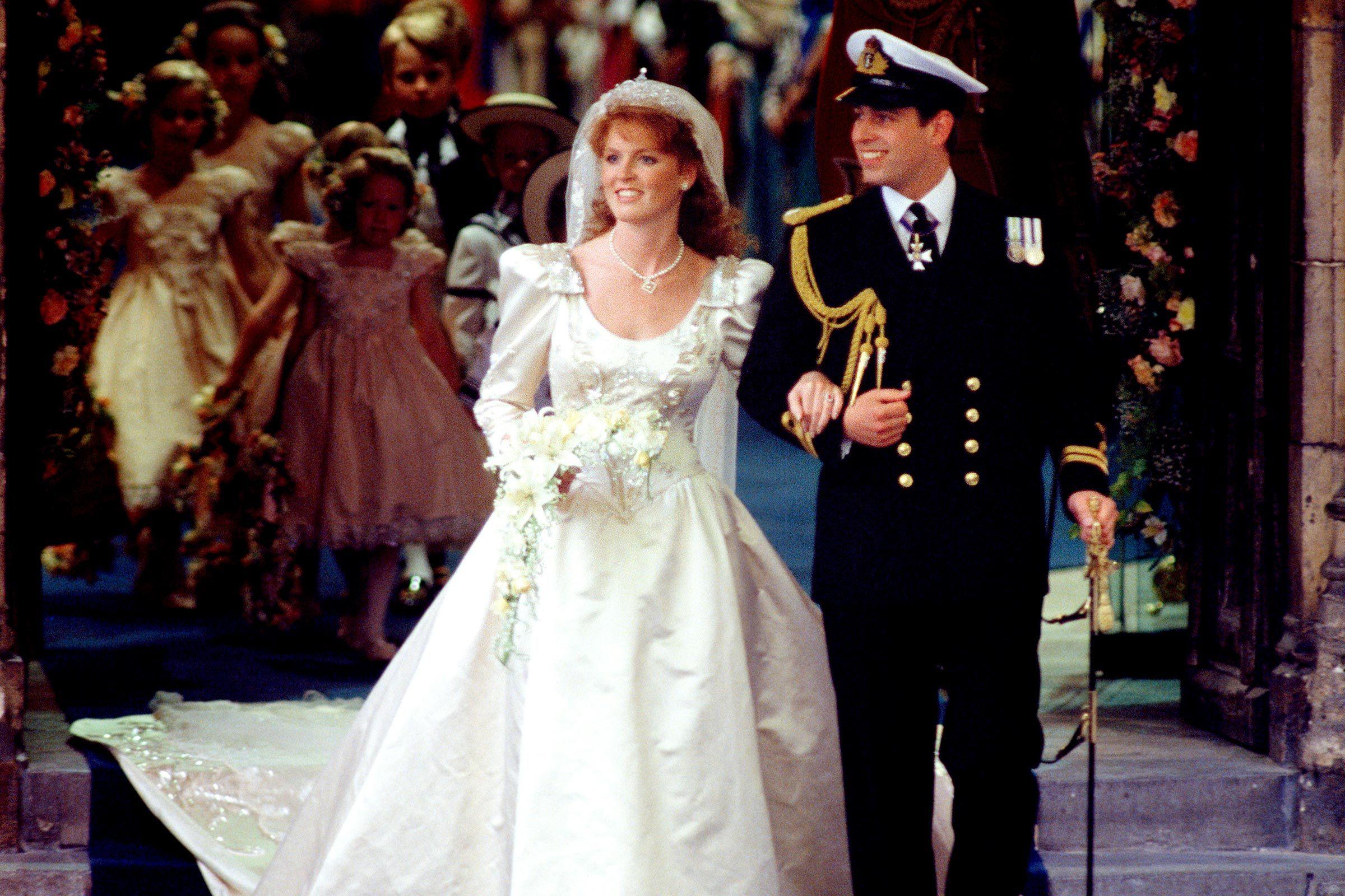 Sarah Ferguson and Prince Andrew Wedding