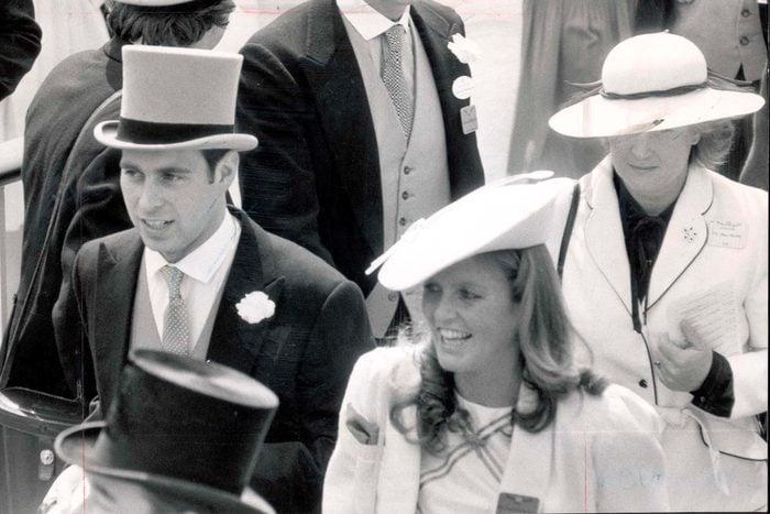 Sarah Ferguson at Royal Ascot 1985