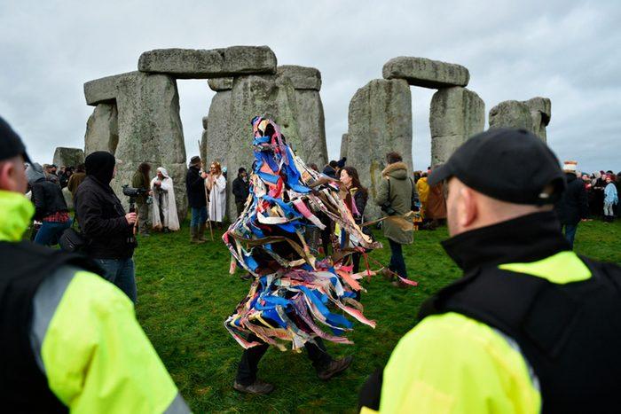 Stonehenge gathering England