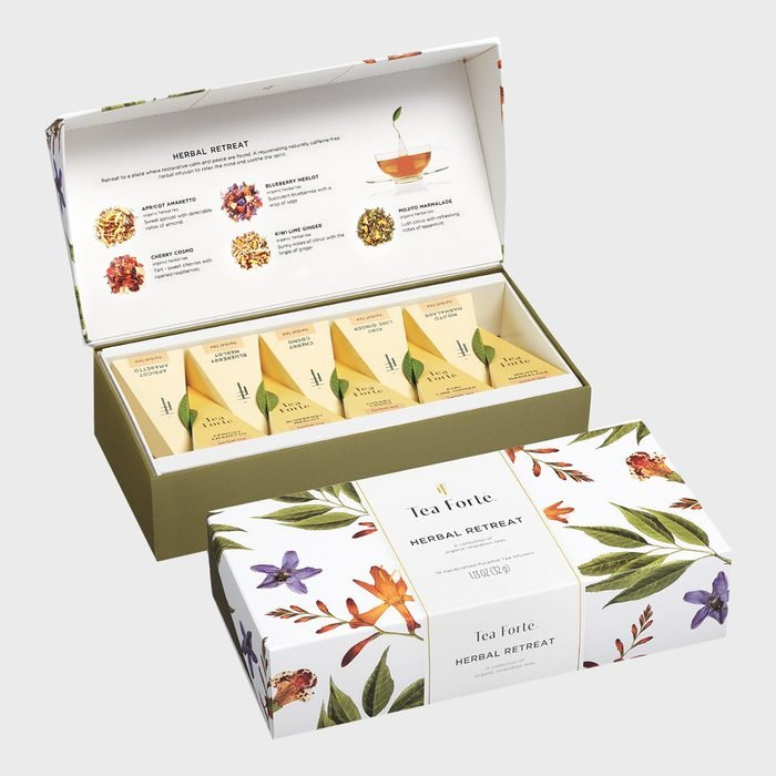 Tea Forte Herbal Retreat Petite Presentation Box