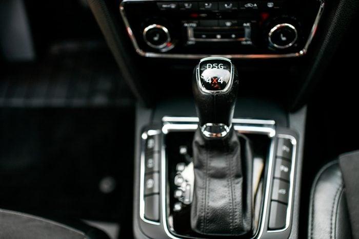 Test drive new car