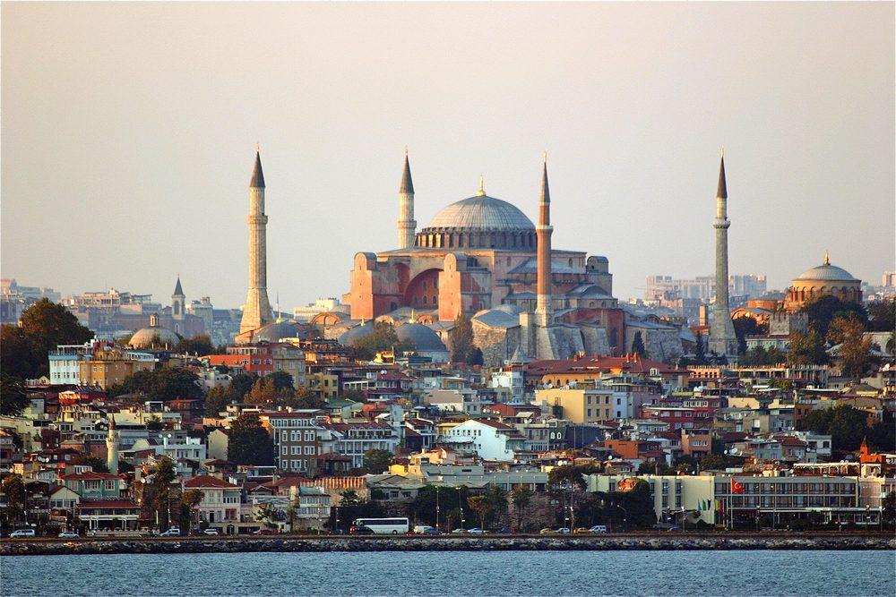 Hagia Sophia Near Sunset, Istanbul
