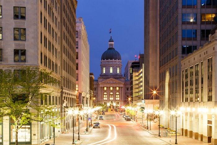 Indianapolis Morning - Market Street