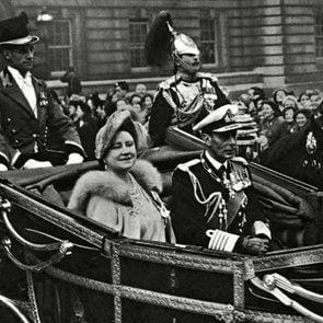 The parents of Queen Elizabeth II 13th cousins