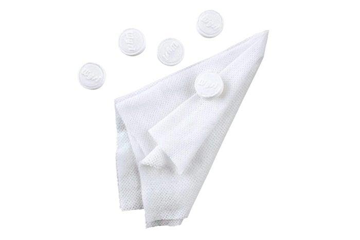 Wipe biodegradable towels