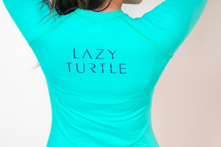wave sun safe long sleeve lazy turtle