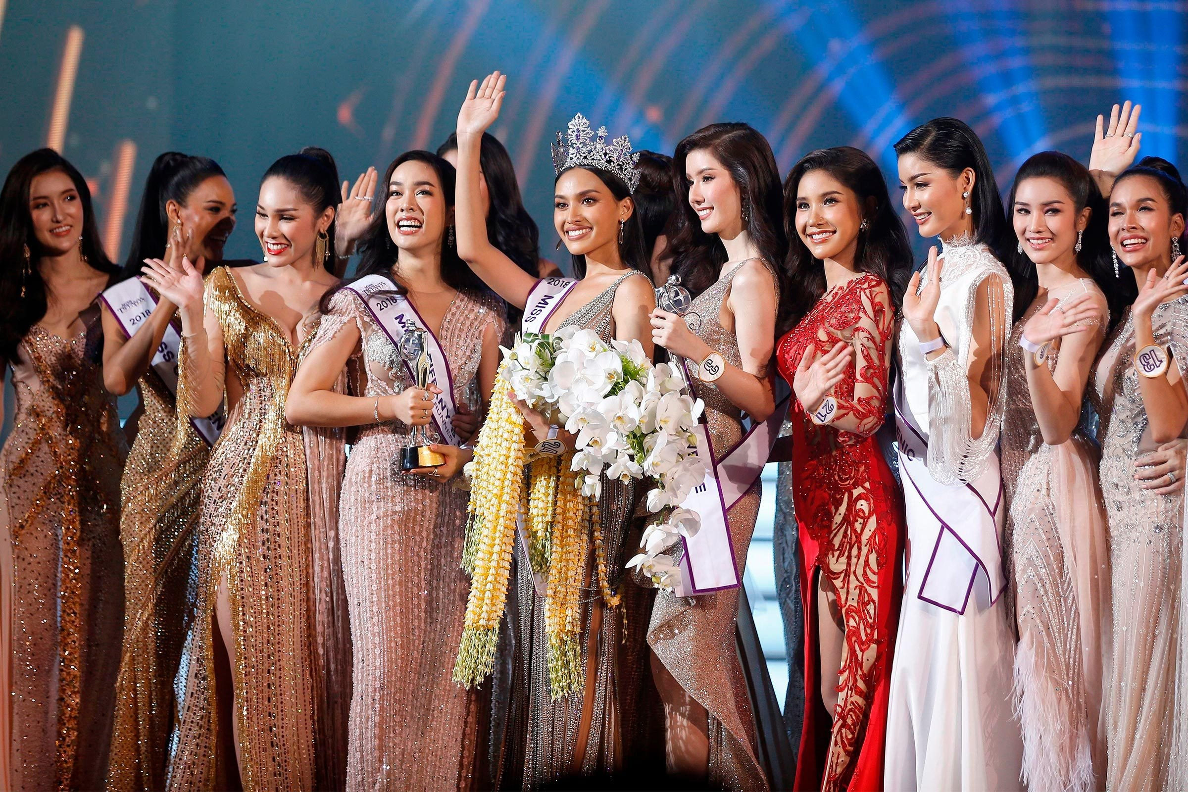 Years of crowns beauty pageant
