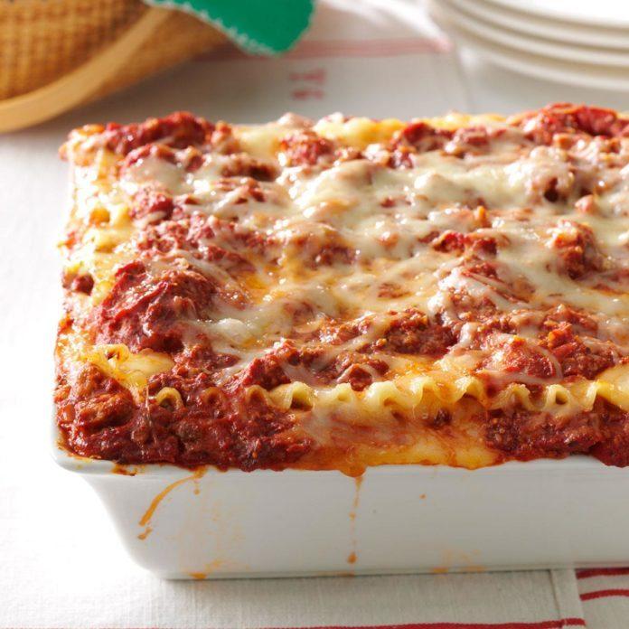 The best lasagna recipe