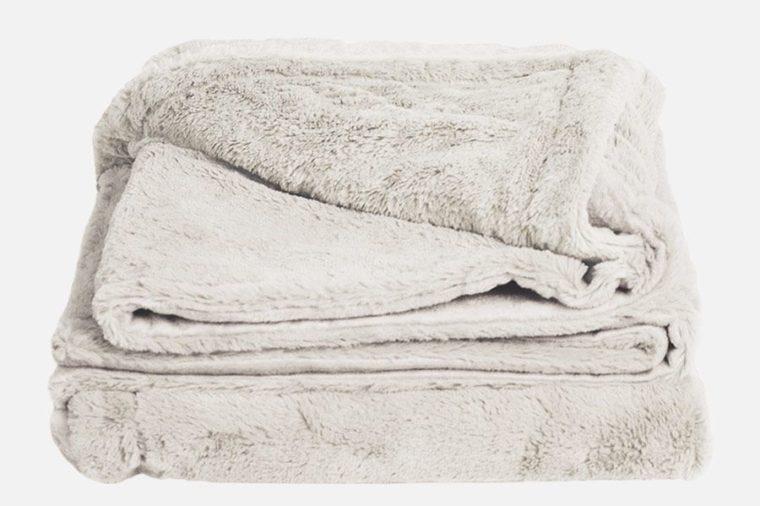 plush bamboo throw blanket