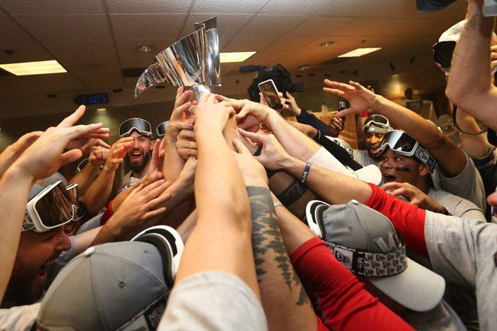 Boston Red Sox at Houston Astros, USA - 18 Oct 2018