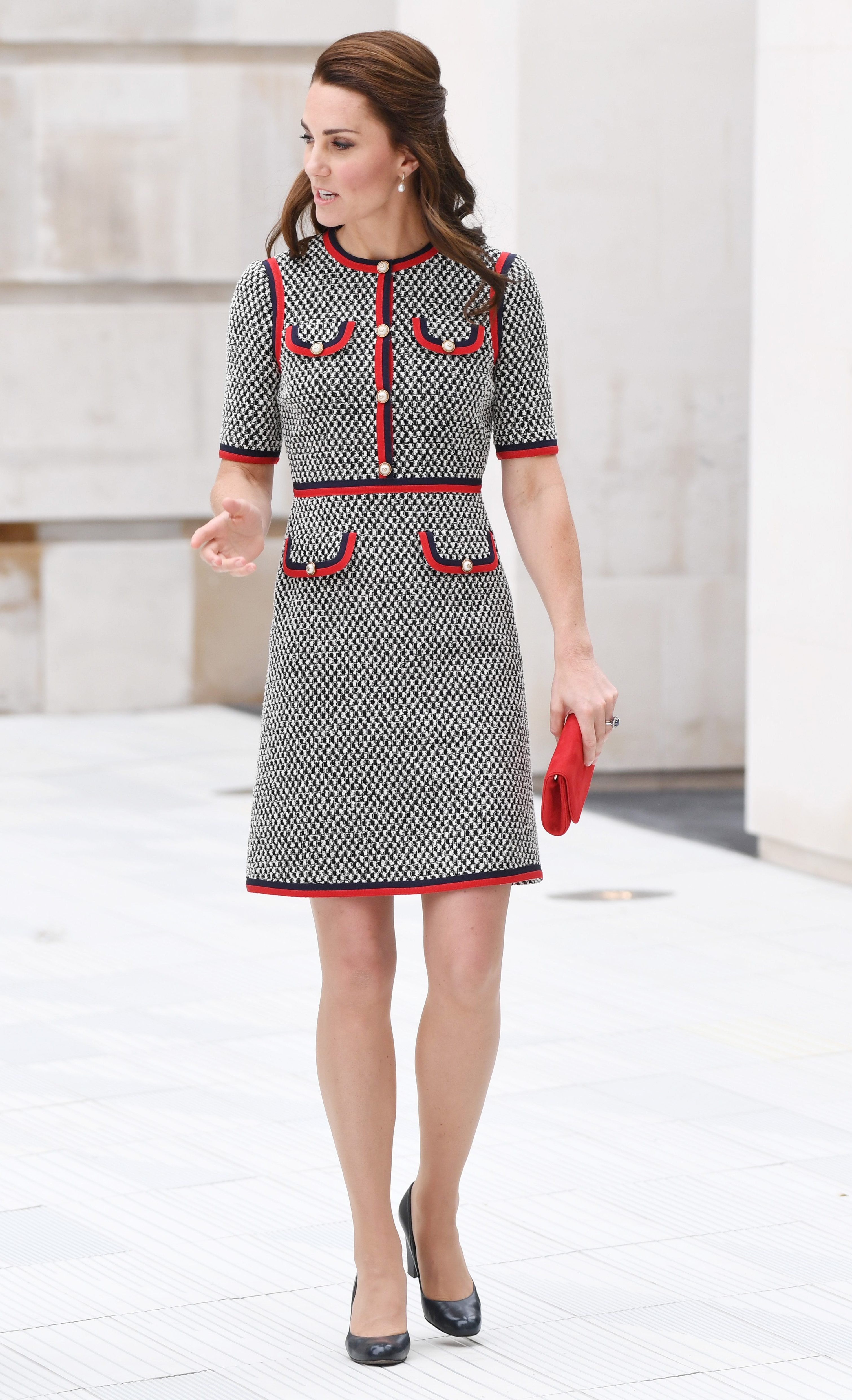 Catherine Duchess of Cambridge visit to the V&A Museum, London, UK - 29 Jun 2017