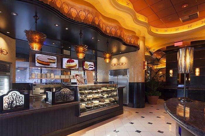 cheesecake factory interior
