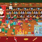 Can You Find All 6 Festive Items Hiding in This Christmas Scene?