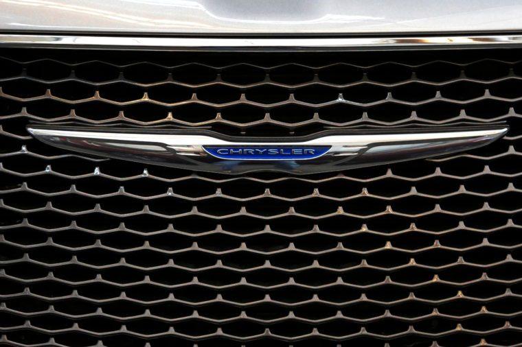 Chrysler Automobiles, Pittsburgh, USA - 15 Feb 2018