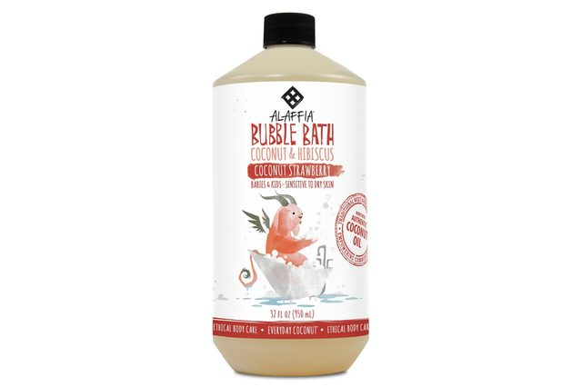 Everyday Coconut Baby Bubble Bath, Coconut Strawberry - 32 Fl Oz