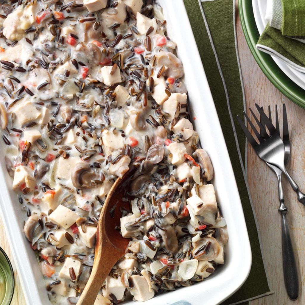 Contest-Winning Chicken Wild Rice Casserole