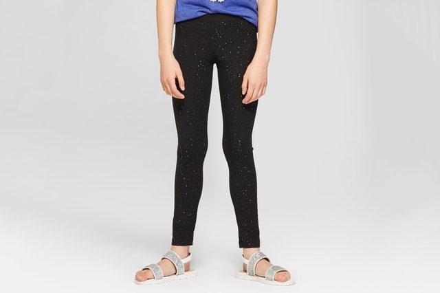 Girls' Sparkle Leggings - Cat & Jack™