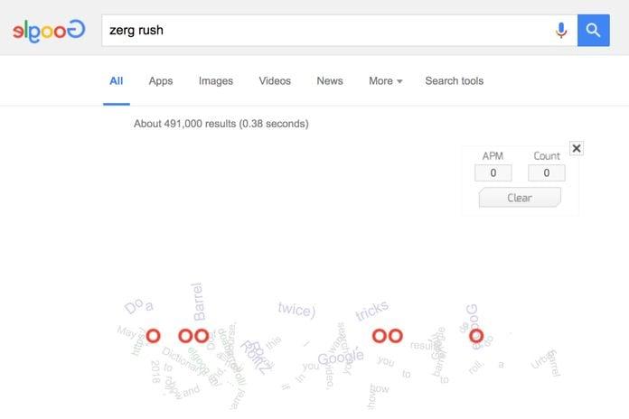 Google: Zerg Rush