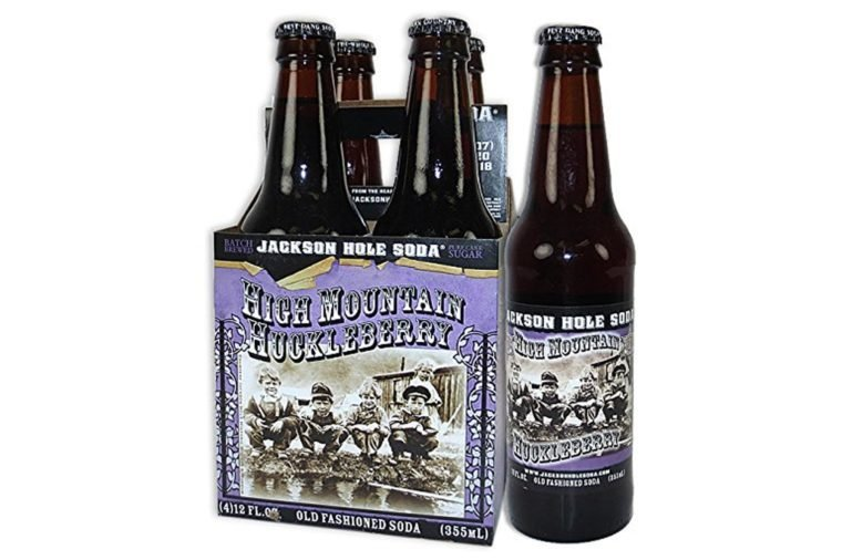 JACKSON HOLE SODA - HIGH MOUNTAIN HUCKLEBERRY (Pack of 6)