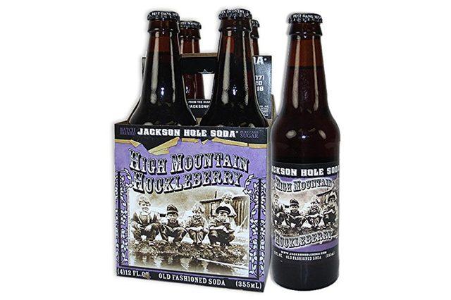 JACKSON HOLE SODA - HIGH MOUNTAIN HUCKLEBERRY (Pack of 6)