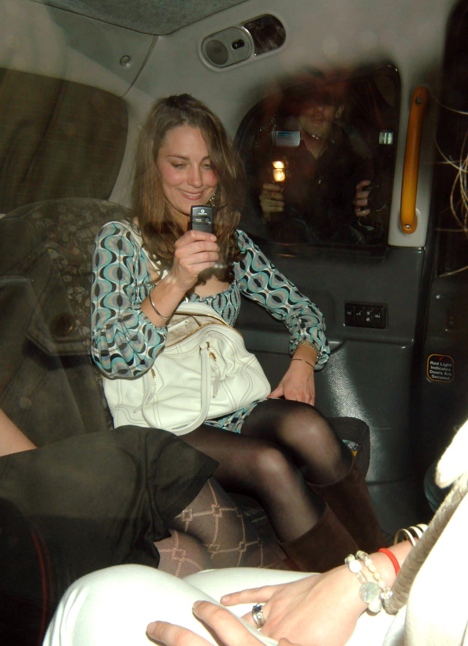 Kate Middleton leaving the Mahiki Club, London, Britain - 19 Apr 2007