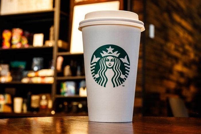 Lafayette - Circa October 2018: Starbucks Retail Coffee Store. Starbucks aims to Eliminate Plastic Straws Globally by 2020 IV