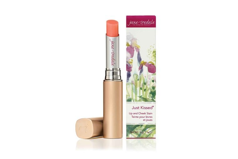 just kissed jane iredale lip and cheek stain