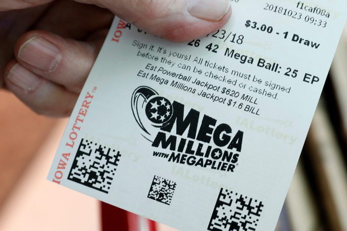 Lottery Jackpot, Des Moines, USA - 23 Oct 2018