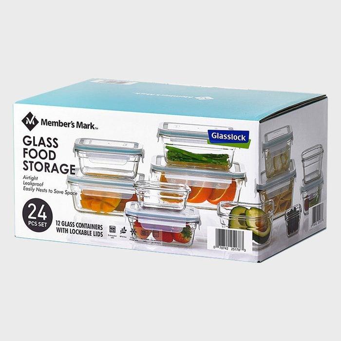Member's Mark Glass Food Storage Set By Glasslock