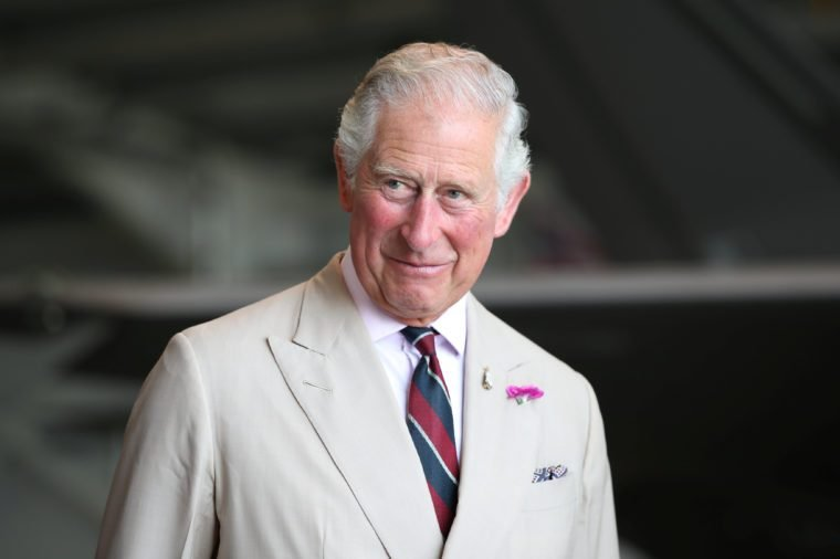 Prince Charles visit to the 617 Squadron, Norfolk, UK - 27 Jul 2018