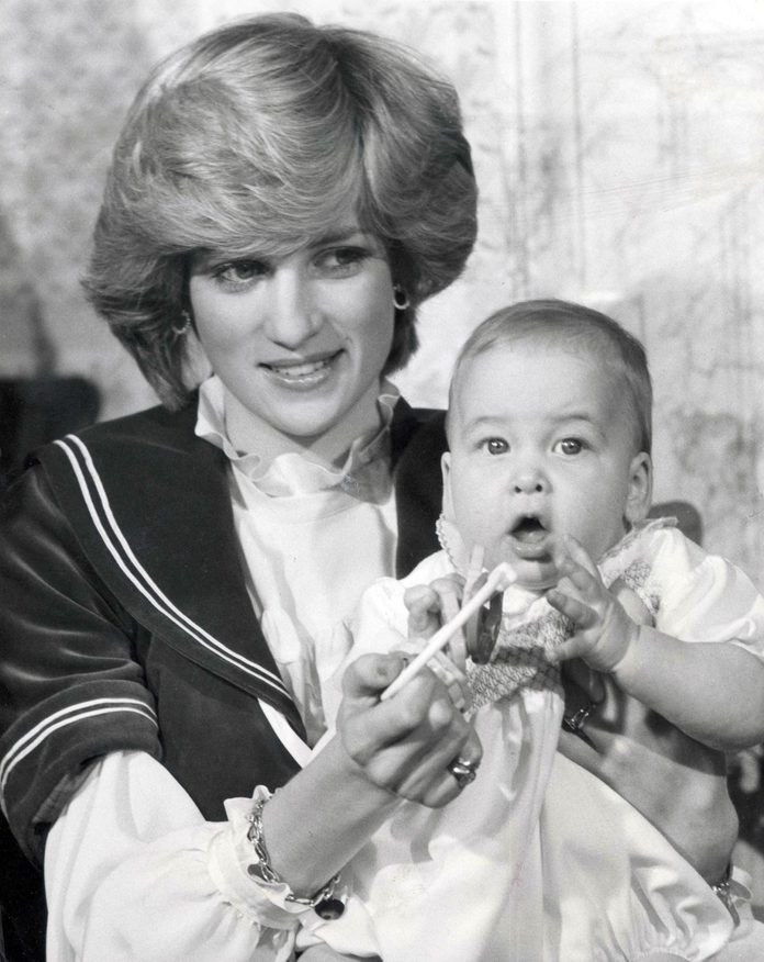 Prince William 1982 These Pictures Are A Christmas Present To The Whole Nation. They Give Us Our First Look At Prince William Now Six Months Old Since He Was Sleepily Sucking His Mother''s Finger At His Christening In August. Yesterday His Blond Hair
