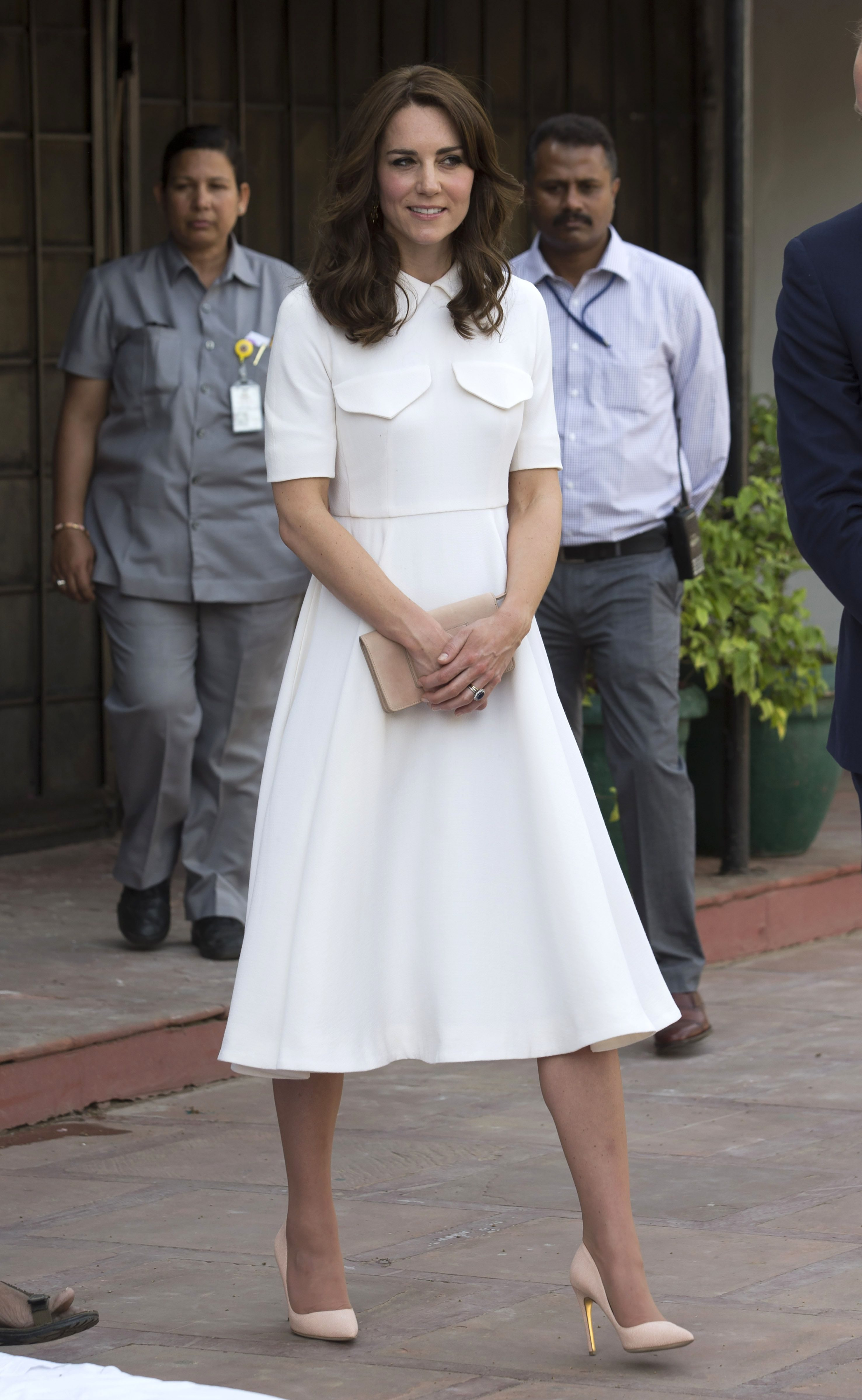 Prince William and Catherine Duchess of Cambridge visit to India - 11 Apr 2016