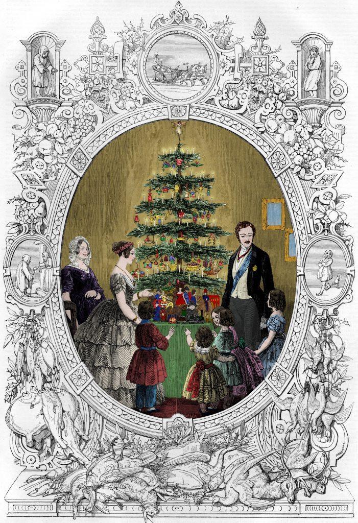 Queen Victoria's Christmas Tree, 1848