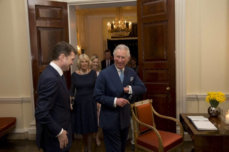Reception for Americans Living and Working in the UK at Winfield House, London, Britain - 09 Mar 2015