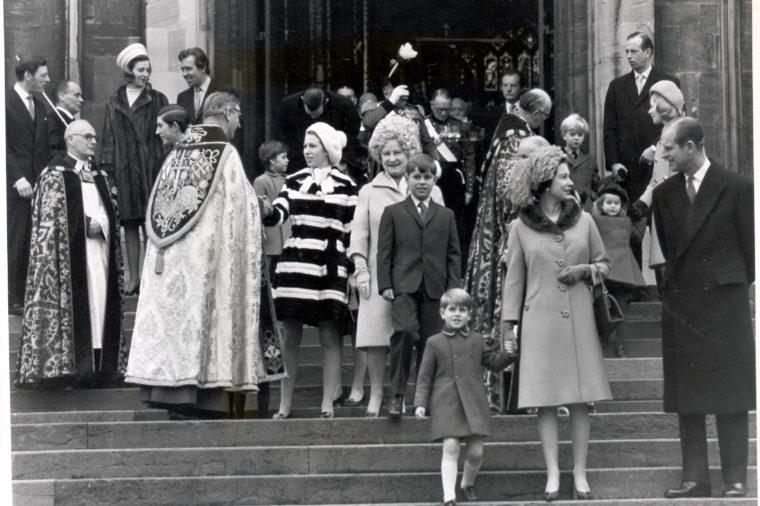 royal family christmas service