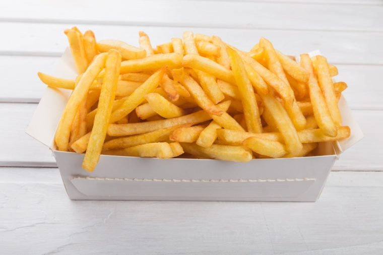 French Fries, Fast Food French Fries, Prepared Potato.