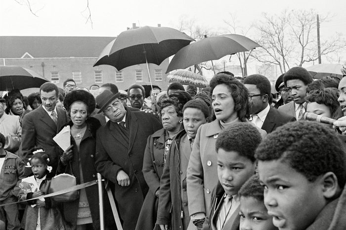 MLK MEMORIAL FAMILY, ATLANTA, USA
