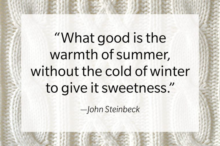 quote text on sweater texture background